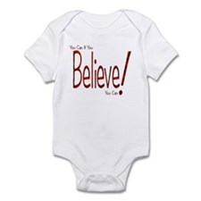 Believe! (Red) Infant Creeper