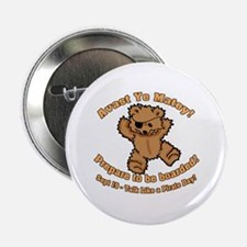 "Teddy Bear Pirate 2.25"" Button (100 pack)"