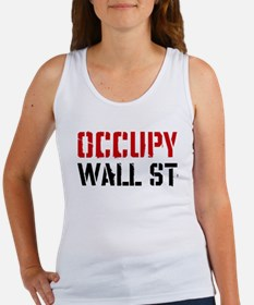 Occupy Wall St Women's Tank Top