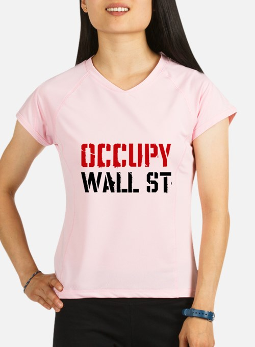 Occupy Wall St Performance Dry T-Shirt