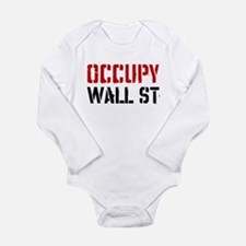 Occupy Wall St Long Sleeve Infant Bodysuit