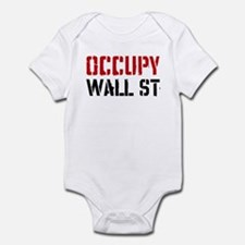 Occupy Wall St Infant Bodysuit