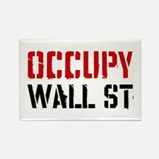 Occupy Wall St Rectangle Magnet