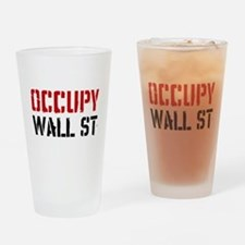 Occupy Wall St Drinking Glass