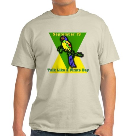 Talk Like a Pirate Day Light T-Shirt