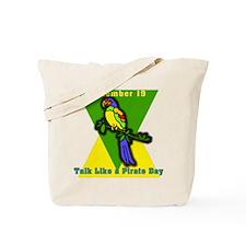 Talk Like a Pirate Day Tote Bag
