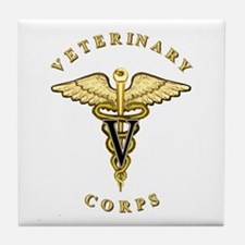 US Army Veterinary Tile Coaster