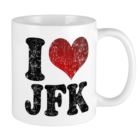 I heart JFK Mug