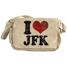 I heart JFK Messenger Bag