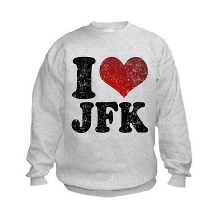 I heart JFK Kids Sweatshirt