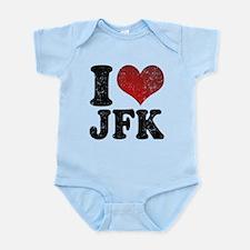 I heart JFK Infant Bodysuit