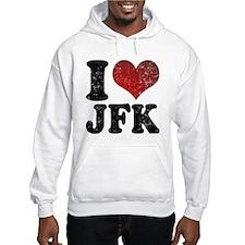 I heart JFK Hoodie