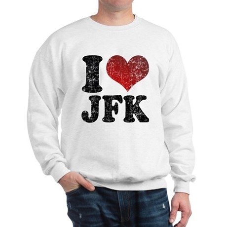 I heart JFK Sweatshirt