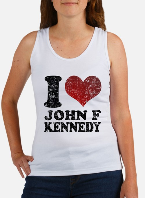 I love John F Kennedy Women's Tank Top