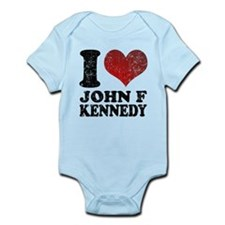 I love John F Kennedy Infant Bodysuit