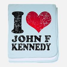 I love John F Kennedy baby blanket