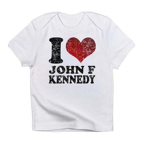 I love John F Kennedy Infant T-Shirt