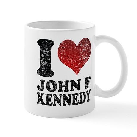 I love John F Kennedy Mug