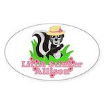 Little Stinker Allison Sticker (Oval 10 pk)