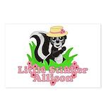 Little Stinker Allison Postcards (Package of 8)