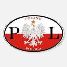 Polish Polska Oval Decal