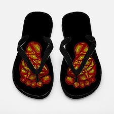 Tribal Toes Flip Flops