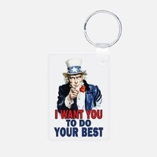 More Uncle Sam Sayings Keychains
