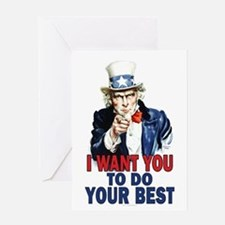 More Uncle Sam Sayings Greeting Card