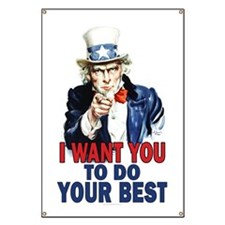 More Uncle Sam Sayings Banner