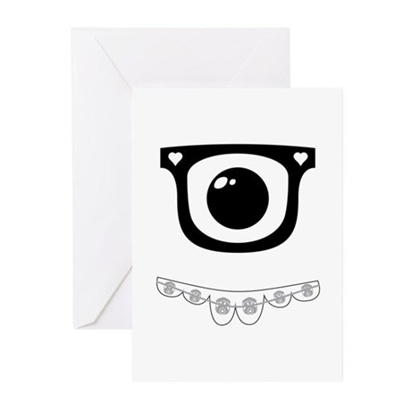 Techie Becky Greeting Cards (Pk of 10)