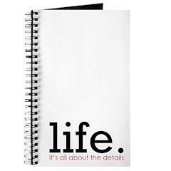 life. Journal