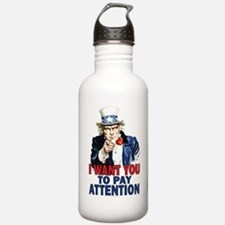 More Uncle Sam Sayings Sports Water Bottle