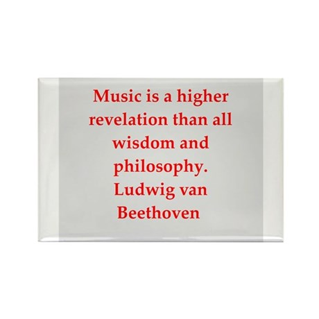 Ludwig van Beethoven Rectangle Magnet (100 pack)