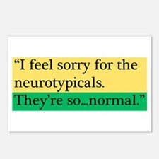Neurotypicals Postcards (Package of 8)