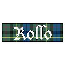 Tartan - Rollo Bumper Sticker