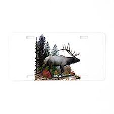 Elkaholic Aluminum License Plate