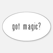 got magic? Sticker (Oval)