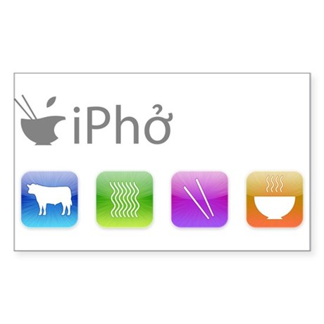 iPho Sticker (Rectangle)