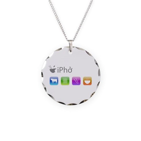 iPho Necklace Circle Charm