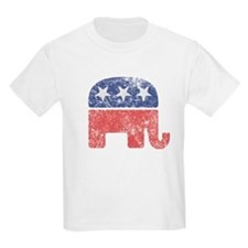 Worn Republican Elephant T-Shirt