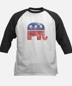 Worn Republican Elephant Tee