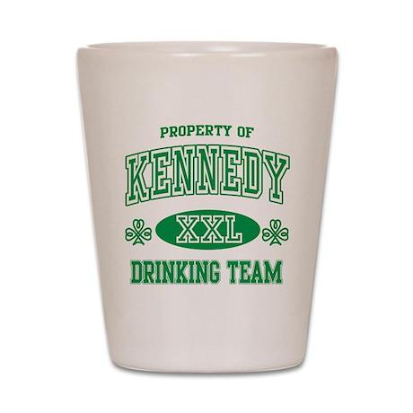 Irish Drinking Team Shot Glass