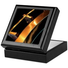 Metal Sculpture Keepsake Box