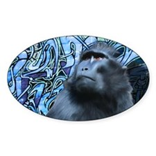 Black Macaque Decal