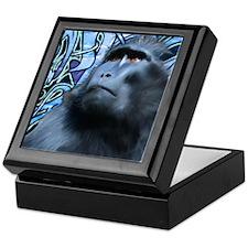 Black Macaque Keepsake Box