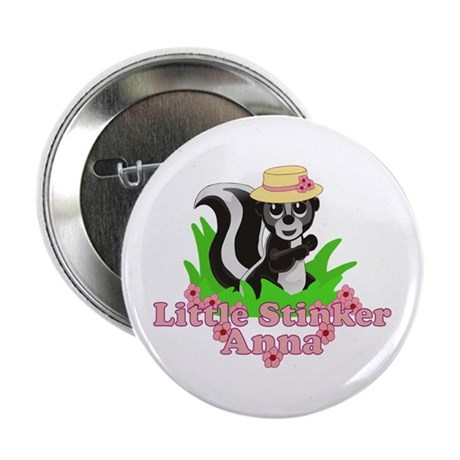 "Little Stinker Anna 2.25"" Button"