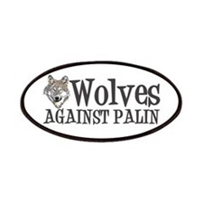 Wolves Against Palin Patches