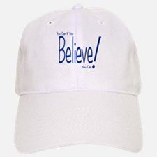 Believe! (blue) Baseball Baseball Cap