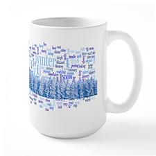 Winter words Mug