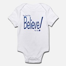 Believe! (blue) Infant Creeper